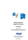 Arjay 2852-PCD Plugged Chute Detector - User Manual