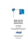 Arjay 2852-CAP Capacitance Monitor - User Manual