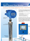 Model 4100-OCF - Open Channel Flow Monitor - Brochure