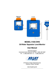 Arjay 4100-OWS Oil/Water Separator Level Monitor - User Manual