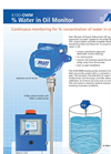 Arjay 4100-OWM Oil/Water Monitor - Brochure