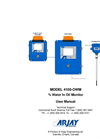 Arjay 4100-OWM Oil/Water Monitor - Manual