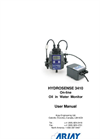 HydroSense - 3410 - On-Line  Oil In Water Monitor - User Manual