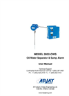 Arjay 2852-OWS Oil/Water Separator & Sump Alarm - User Manual