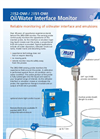 Model 2852-OWI - Remote Mounted Oil/Water Interface Monitor Brochure