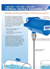Arjay 2880-OWI Probe Mounted Oil/Water Interface Transmitter - Brochure