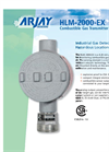 HLM-2000-EX Combustible Gas Transmitter - Brochure