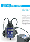 HydroSense - Model 3420 - On-line ppm Oil in Water Monitor Analyzer - Brochure