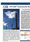 OSI - Model OFS-2000 - Emissions/Air Flow Sensor Brochure