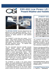 OSi - Model OWI-650 LP-WIVIS™ - Present Weather and Visibility Sensors - Brochure