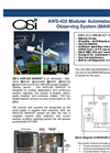 OSi - Model AWS-432 - Modular Automated Weather Observing System (MAWOS) Brochure
