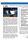 OWV-300 Optical Wind & Visibility Sensor - Brochure