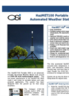 HazMET - Model 100 - Portable Automated Weather Station Brochure