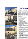 KRONUS Regenerative Thermal Oxidizers VOC Abatement System - Specification Sheet