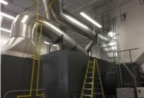 Regenerative Thermal Oxidizer (RTO) Fabrication Services