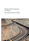Efficient System Solutions for Mining - Brochure