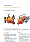 Makro/ 5 - High Outputs in the Low Pressure Range Brochure