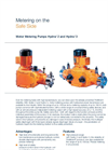 Hydro/ 2 and Hydro/ 3 - Motor Metering Pumps Brochure