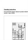 DULCODOS - Type DSWa - Panel, Panel-Mounted Metering System Manual