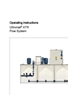 Ultromat – ATR Flow System Operating Instructions Manual