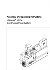 Ultromat – ULFa - Continuous Flow System - Manual