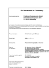 PDF  EC Declaration of Conformity - UV disinfection system Dulcodes - UVCa