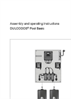 DULCODOS - Pool Basic Metering Systems - Assembly and Operating Instructions Manual