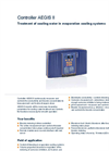 AEGIS II - Controller for Treatment of Cooling Water in Evaporation Cooling Systems Brochure