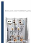 Metering Pumps, Components and Metering Systems – ProMinent Product Catalogue 2017, Volume 1