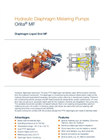 Orlita - Model MF - Hydraulic Diaphragm Metering Pump - Brochure