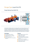 Orlita - Model PS - Plunger Metering Pump - Brochure