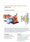 Orlita - Model MH - Hydraulic Diaphragm Metering Pump - Brochure