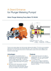 Makro - Model TZ - Plunger Metering Pump - Flyer