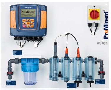 Aquatech 2019: Measuring and control panel: DULCOTROL DWCa for water treatment
