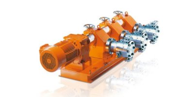 Orlita - Model MF - Hydraulic Diaphragm Metering Pump