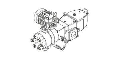 Orlita - Model MHHP - Hydraulic Metal Diaphragm Metering Pump High-pressure