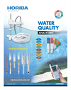 HORIBA - Water Quality Analyzers - Brochure