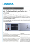 HORIBA - APMC-370 - Air Pollution Multigas Calibrator Brochure