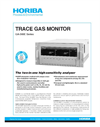 HORIBA - GA-360E Series - Trace Gas Monitor Brochure