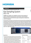 HORIBA - GPS5-14D - Gas Sampling System Brochure