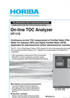 HORIBA - Model HT-110 - Online TOC-Analyzer Brochure