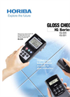HORIBA - IG-Series - Gloss Checker Brochure