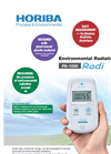 HORIBA - PA-1000 - Environmental Radiation Monitor Radi Brochure