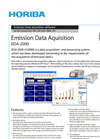 HORIBA - EDA-2000 - Emission Data Aquisition Software Brochure