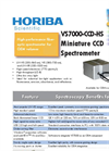 HORIBA - Model VS7000-CCD-HS - Miniature CCD Spectrometer Brochure