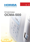 OCMA-500 - Oil Content Analyzer - Brochure