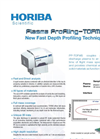 Plasma Profiling-TOFMS - New Fast Depth Profiling Technique Brochure