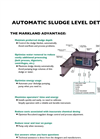 Automatic Sludge Blanket Level Detector Online Brochure