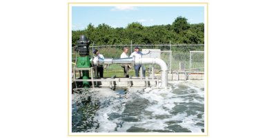 Wastewater Aeration System without Blowers