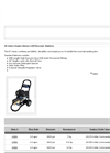 Model EK Series - Engine Driven Cold Pressure Washers - Datasheet